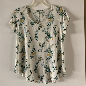 Lucky Brand Cotton Floral T